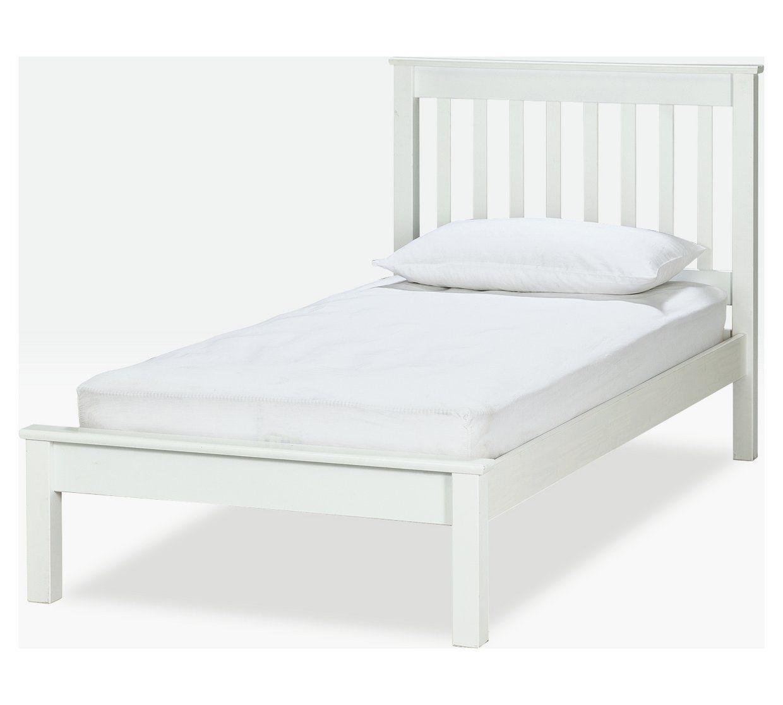 Buy Argos Home Aspley Single Bed Frame White Kids Beds Argos White Kids Bed Single Bed Frame Kid Beds