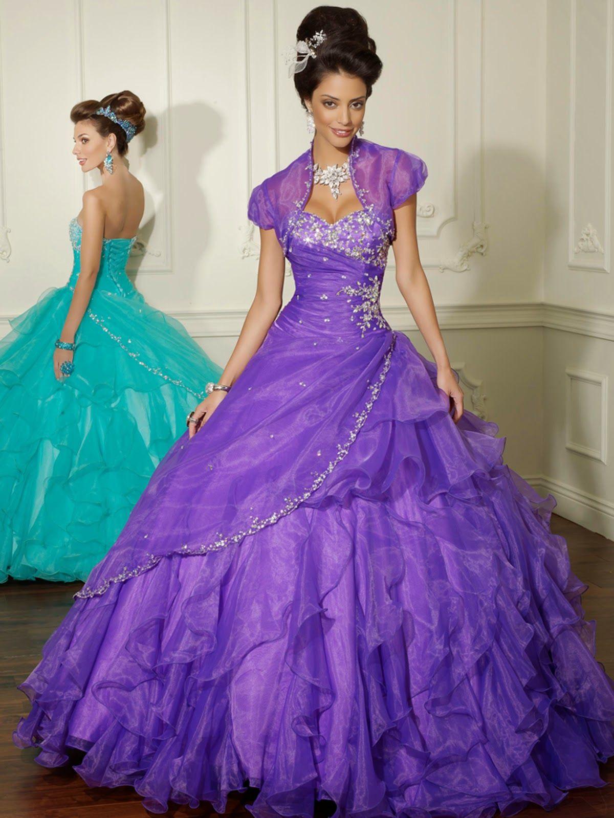 Magnificos vestidos de Quince Años | Vestidos de fiesta de ...