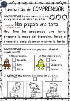 88ff3edf5 Lecturitas de comprensión 2 para Infantil y primer ciclo de Primaria Os  dejamos estas fantásticas actividades