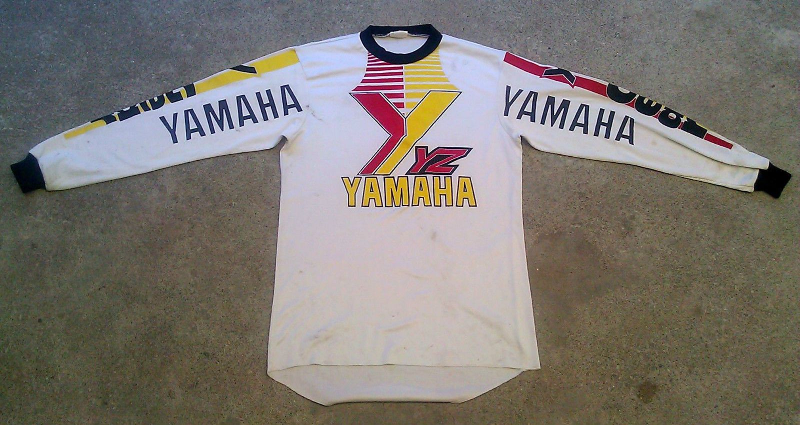 Vintage 80 S Yamaha Yz Motocross Jersey Shirt 1980 S Supercross Jersey Shirt Vintage Sports Yamaha