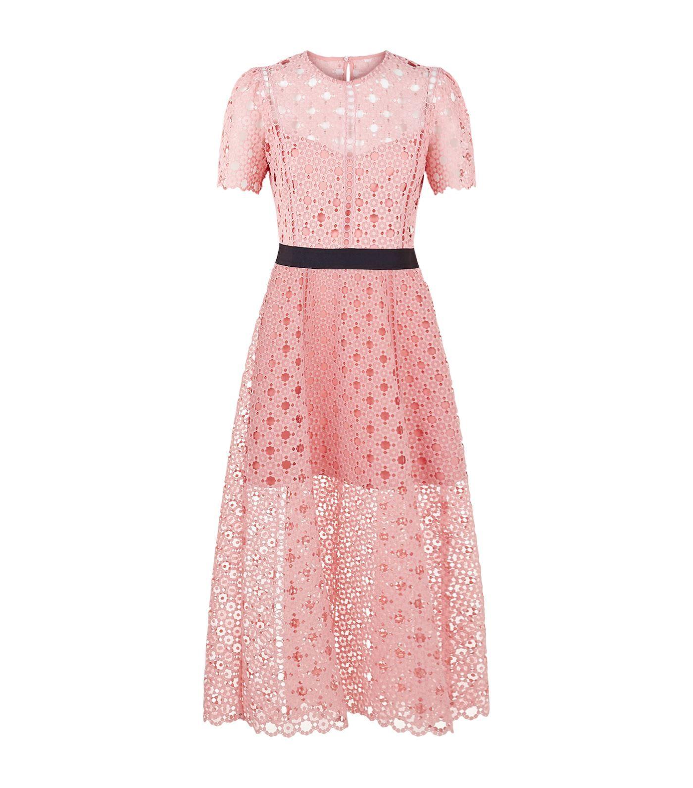 Sandro Floral Lace Midi Dress   Harrods.com   Shopping Wish List ...