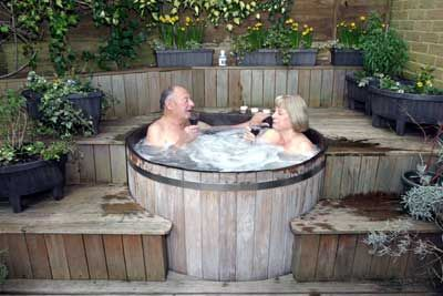 Garden Hot Tubs   Google Search