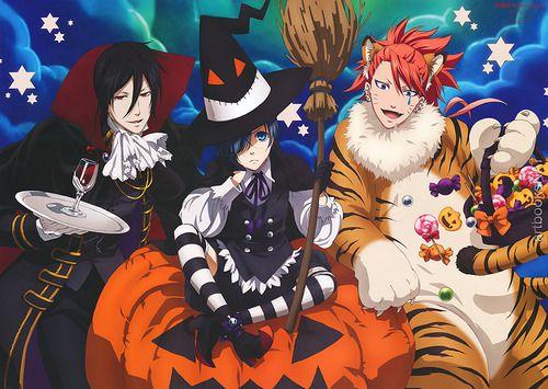 """Résultat de recherche d'images pour """"black butler halloween"""""""
