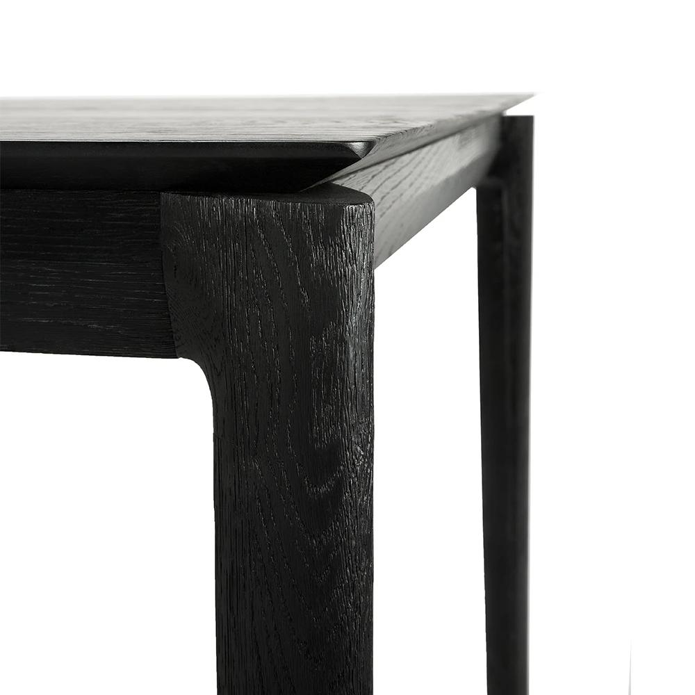 Black Oak Bok Dining Table In 2020 Black Dinning Table Dining