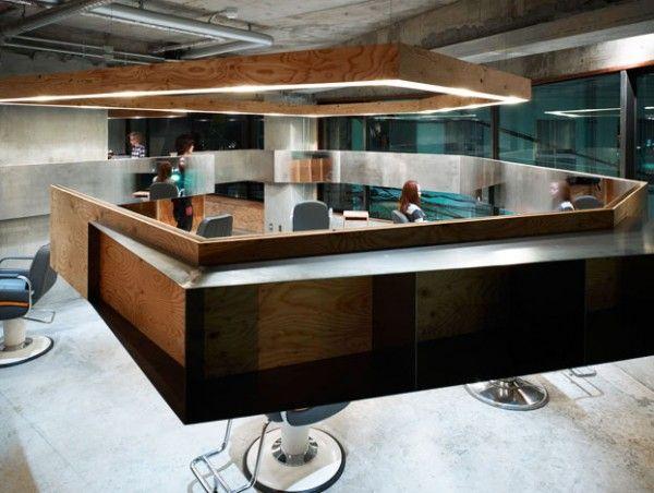 lodge peluqueria japon suppose design office mostrador