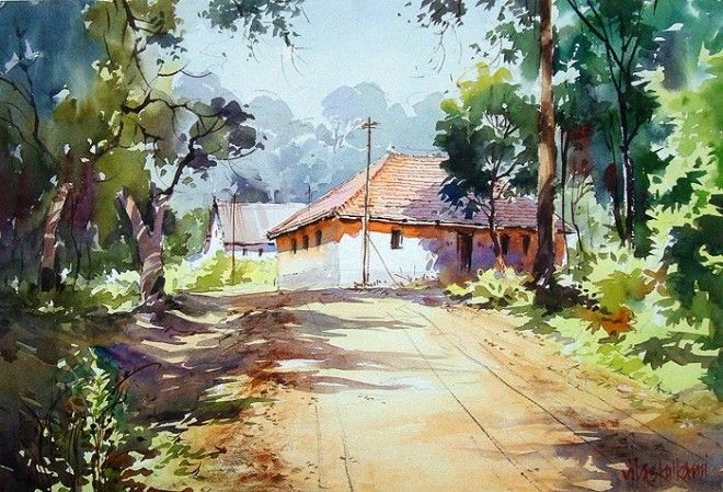 50 Best Watercolor Paintings From Top Artists Around The World