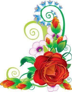FLORES (pág. 25) CLIP ART FLOWERS 1   Aprender ...