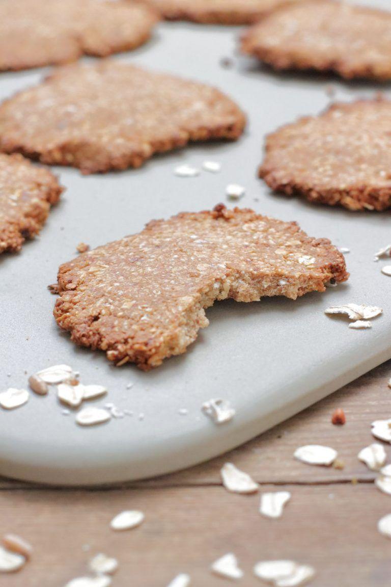 Clean Eating Haferkekse ohne Zucker - zuckerfrei auf Zauberstein - Foodrevers