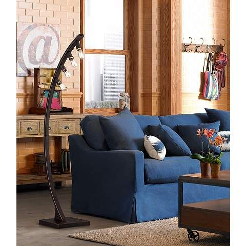 Franklin Iron Works™ Arcos Bronze Arch Floor Lamp - Franklin Iron Works™ Arcos Bronze Arch Floor Lamp Products