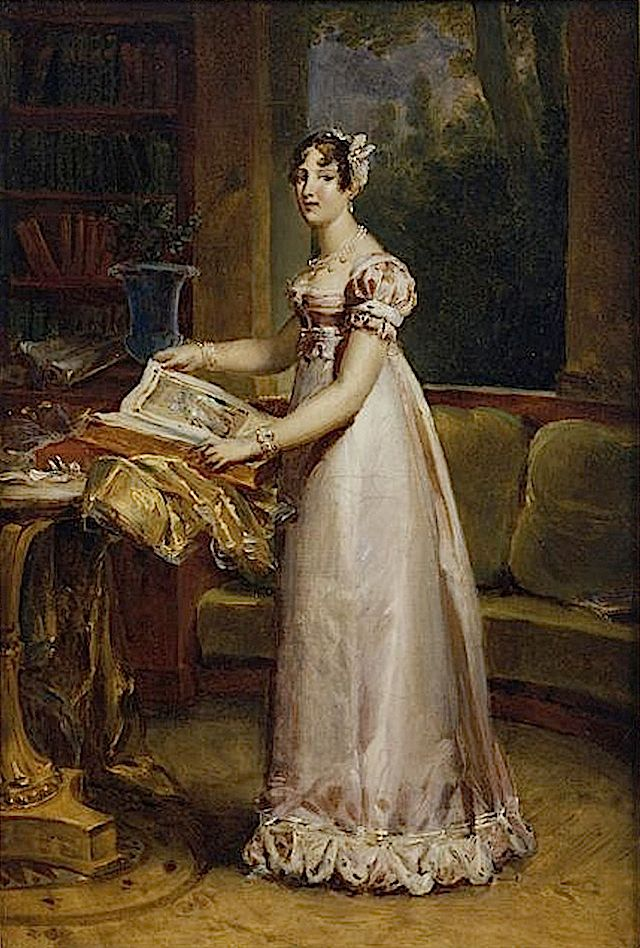 1811 Catherine de Wurtemberg (1783-1835), reine de Westphalie by Baron François Pascal Simon Gérard (Châteaux de Versailles et de Trianon - Versailles France)