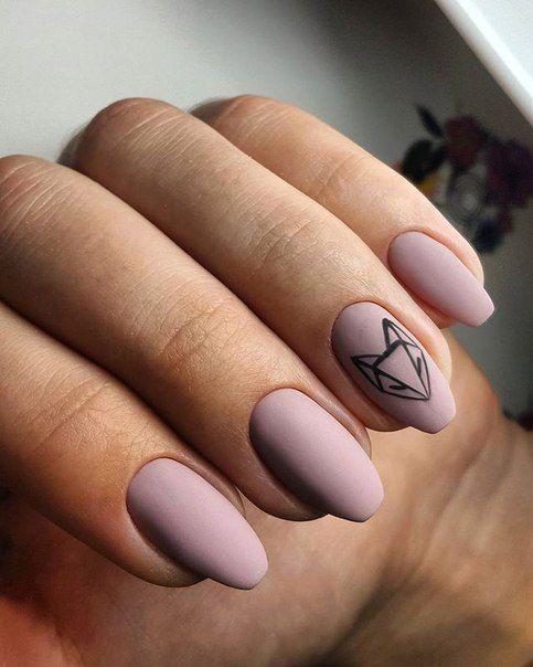 Фото: Светлый маникюр на короткие ногти: топ-10 идей ...