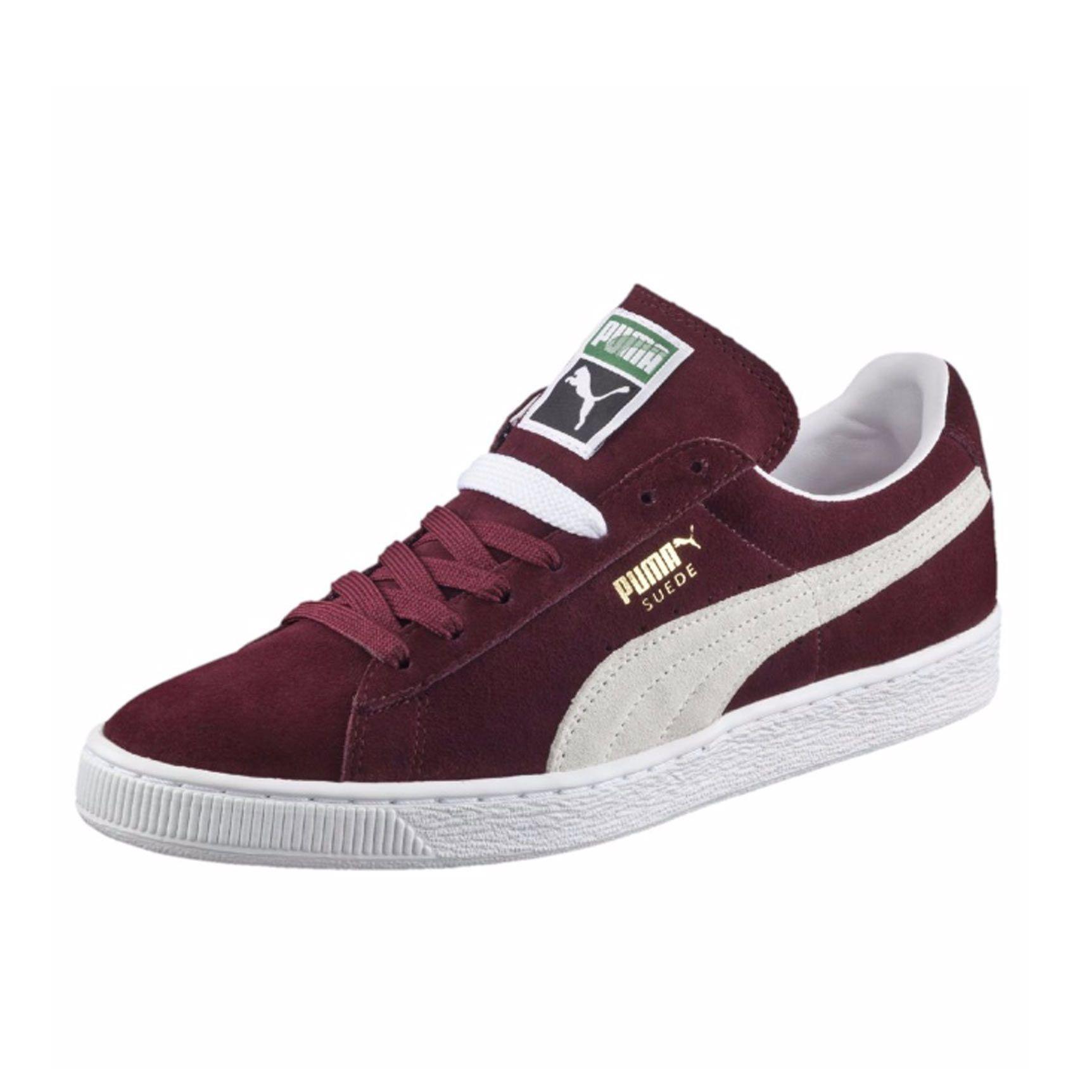Suede Classic+ Sneakers | cabernet-white | PUMA Best Sellers | PUMA United  Kingdom