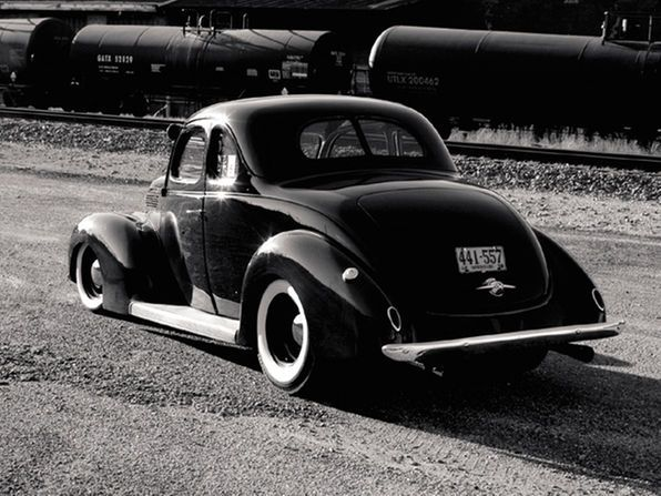 Custom 1938 Ford Deluxe Coupe Feature Vehicle Group Rod And