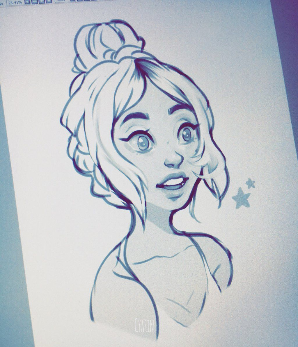 quick sketch by cyarin character designladies