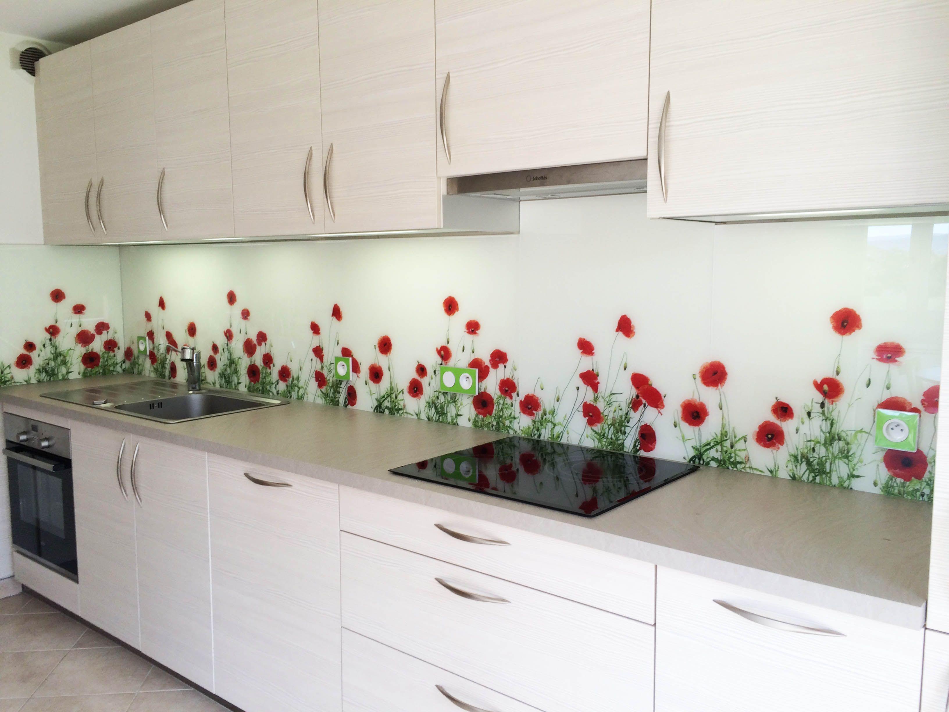 cr dence en verre sur mesure avec impression num rique glass print glass kitchen glass et. Black Bedroom Furniture Sets. Home Design Ideas