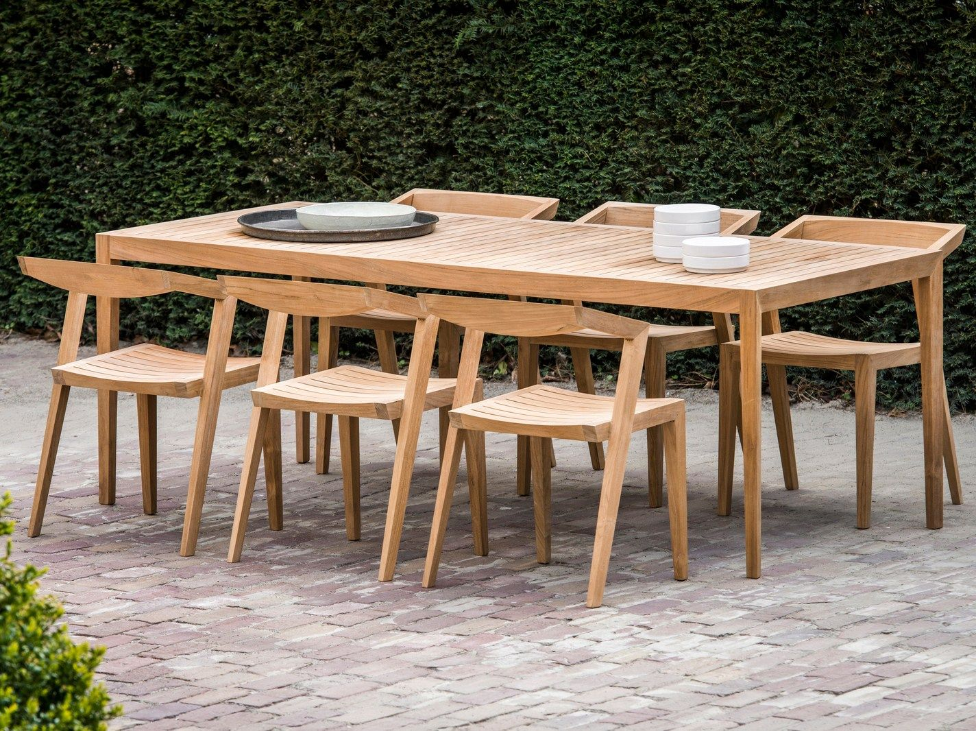 collection garden furniture accessories pictures. Rectangular Teak Garden Table URBAN Collection By Feelgood Designs Design Jakob Berg Furniture Accessories Pictures I
