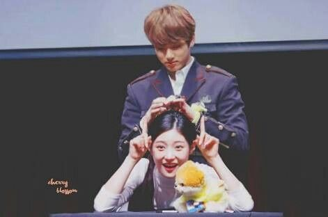 jung chae yeon and jungkook