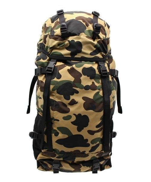 9cba26ec9664 From Japan,A BATHING APE BAPE × PORTER 1ST CAMO Backpack,New ...