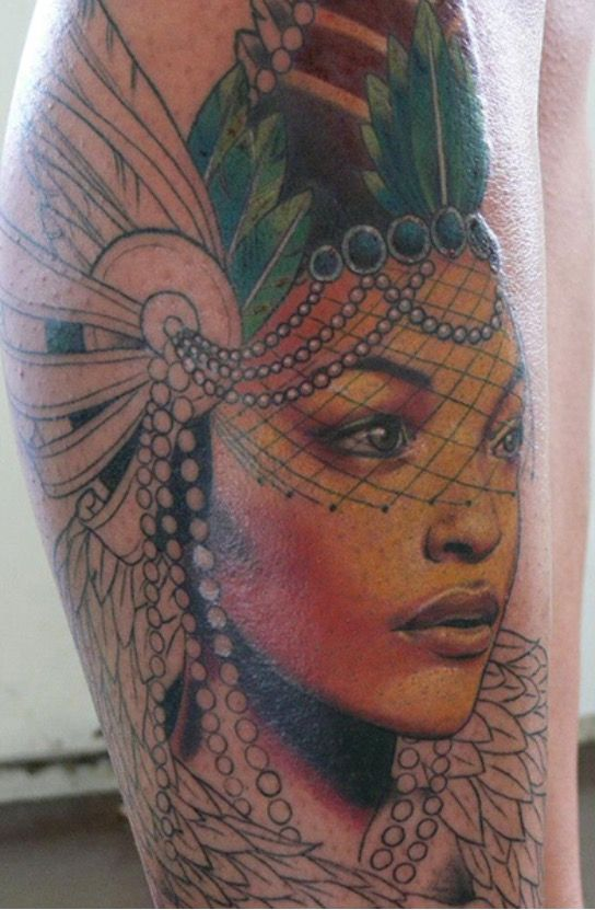 Tattoo By Tanya Wischerath Tattoos Polynesian Tattoo Portrait Tattoo
