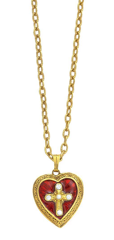 Reginas Catholic Gifts - Gold/Red Enamel Cross of Glory Locket, $33.00 (http://www.reginascatholicgifts.com/gold-red-enamel-cross-of-glory-locket/)