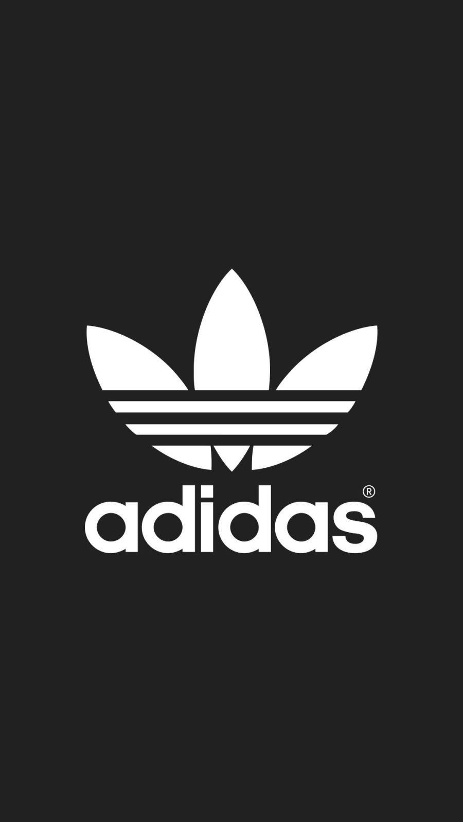 Adidas10 Papel De Parede Adidas Papel De Parede Com Fundo Preto Papel De Parede Da Nike