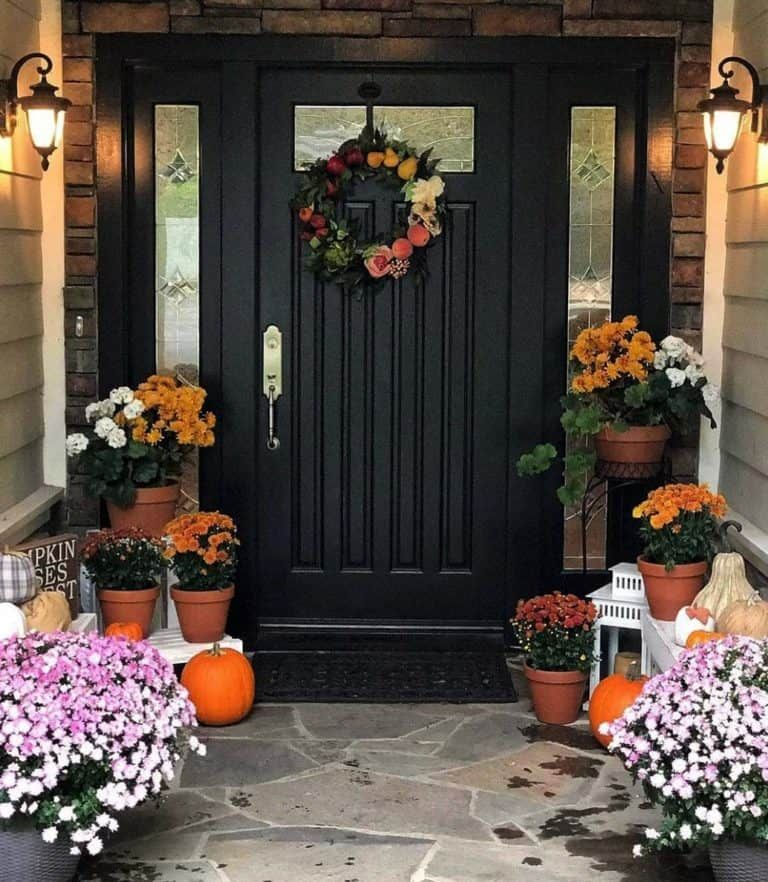 Front Entryway Decorating Ideas The Design Twins: 20+ Dreamy Ideas For Decorating Your Front Porch For Fall