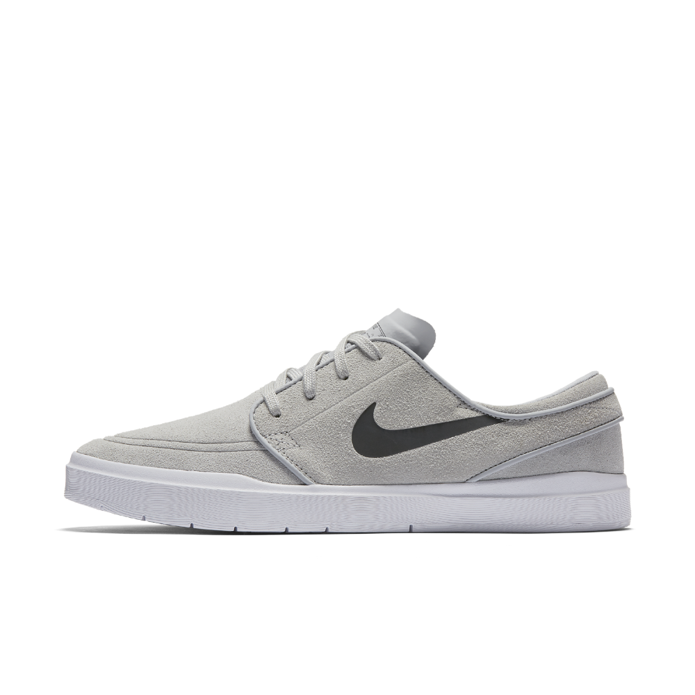 Men's Nike Stefan Janoski Gray Skateboarding Shoes   Size 5.5