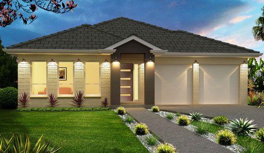 Imagenes de fachadas de casas de un piso sencillas for Case di ranch single story