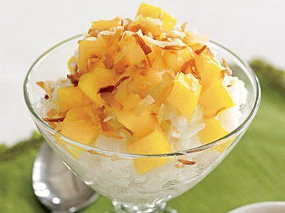 Mango-Coconut Rice Pudding | Recipe in 2020 (With images ...