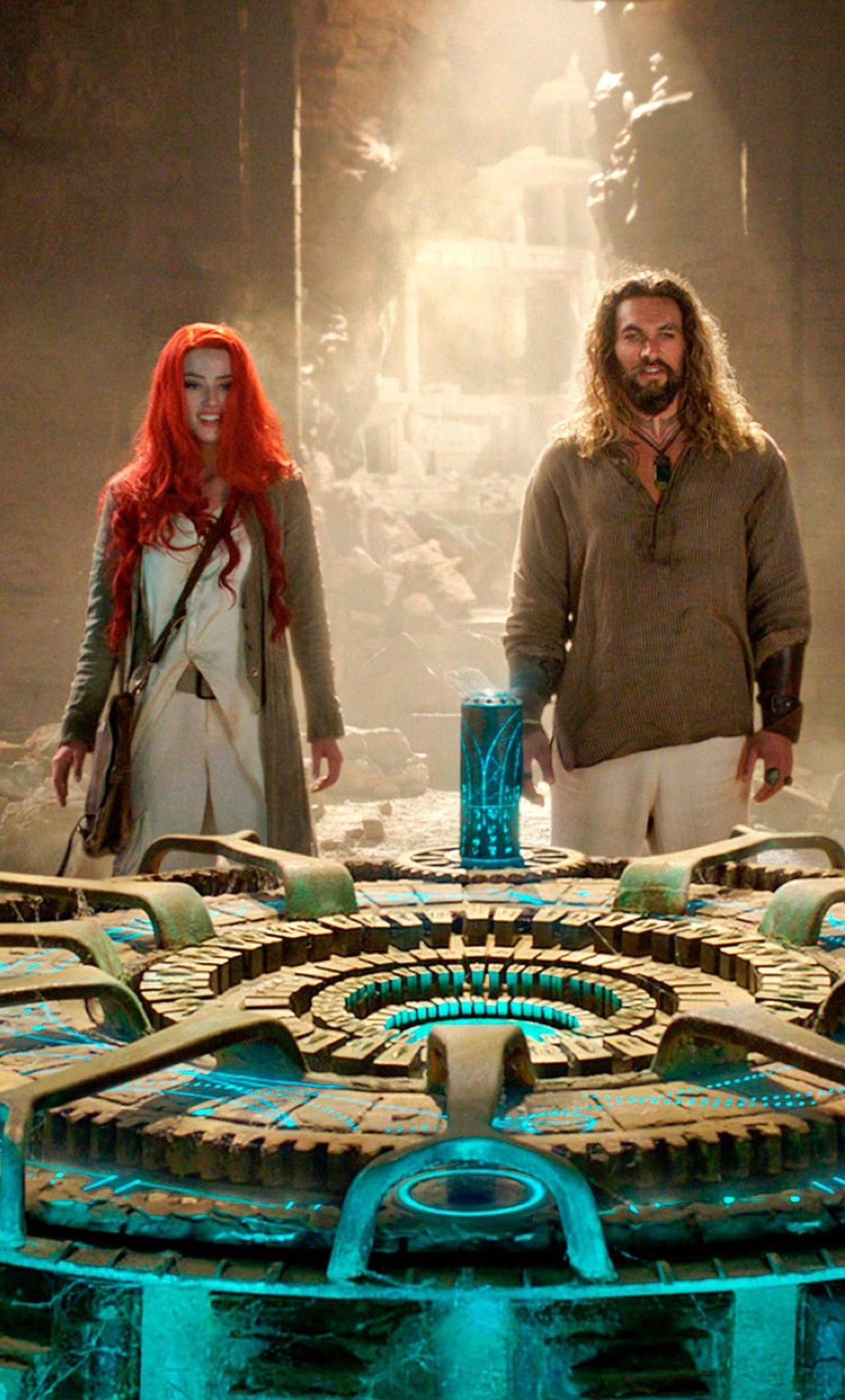 1280x2120 Aquaman And Mera Still From Movie Iphone 6 Hd 4k