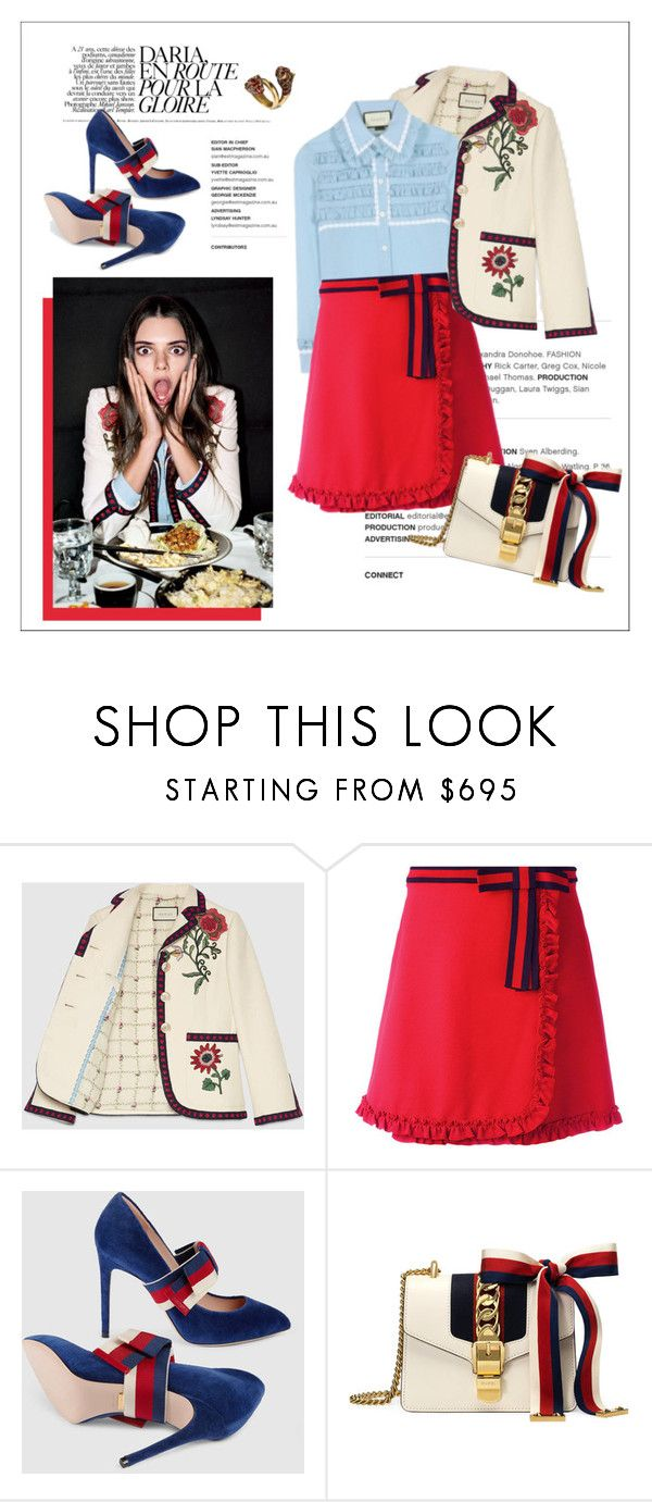 """""""Untitled #114"""" by erihiro ❤ liked on Polyvore featuring Gucci and gucci"""