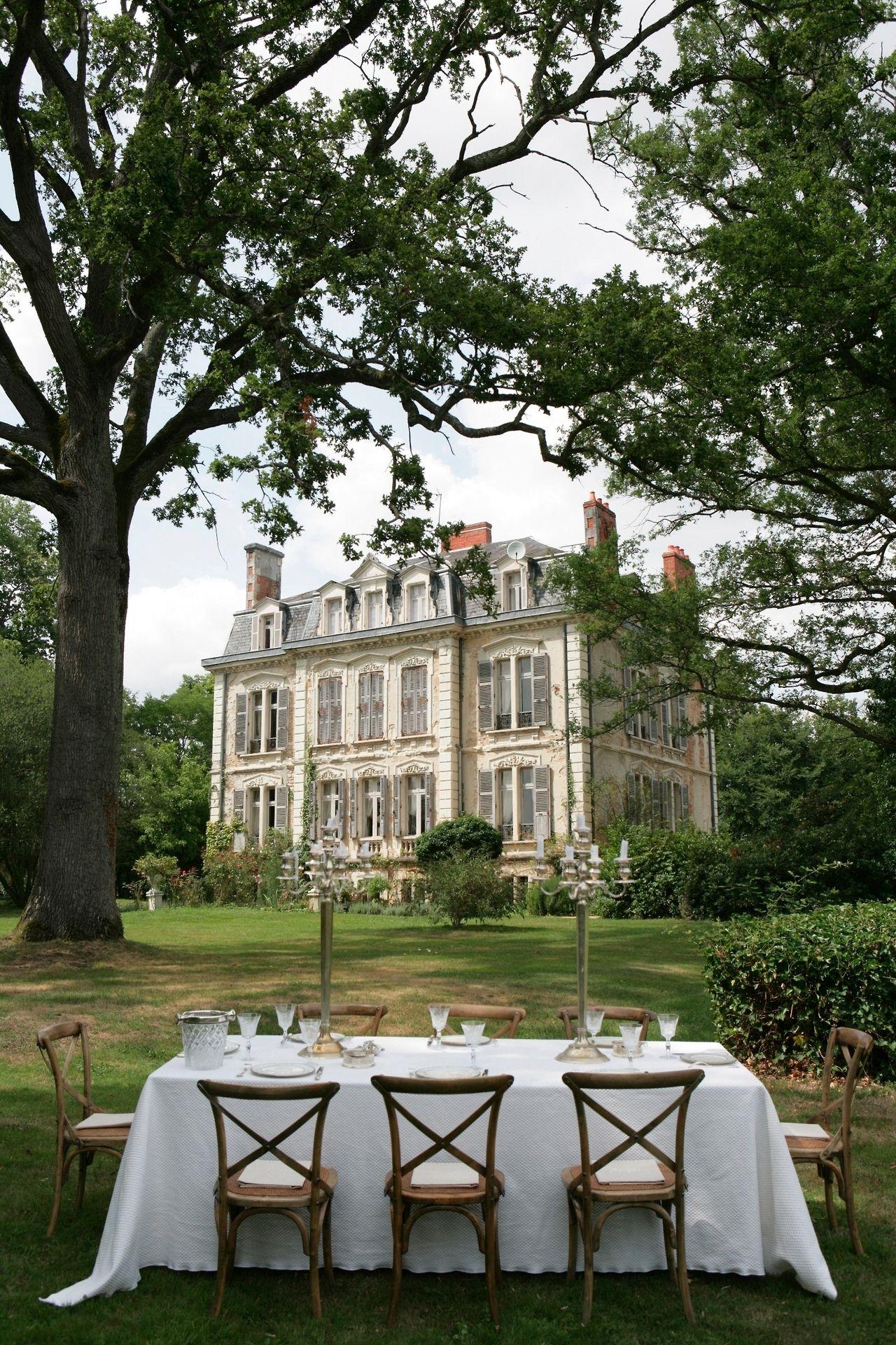 Chateau La Creuzette Boussac France Maison De Campagne