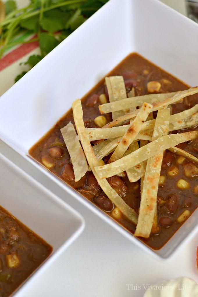 Instant Pot Shredded Beef Taco Soup (with Crockpot ...