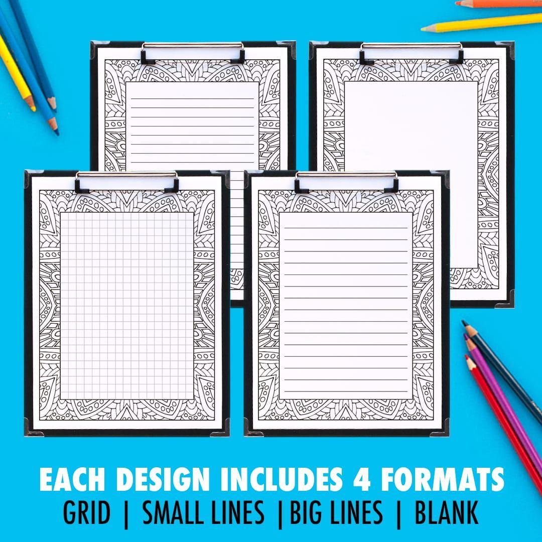 Free Printable Coloring Journal Pages Sarah Renae Clark Coloring Book Artist And Designer Coloring Journal Journal Pages Journal Printables