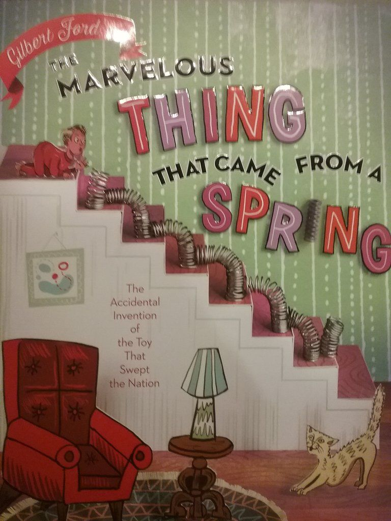 The Marvelous Thing That Came From A Spring Hardcover Something I