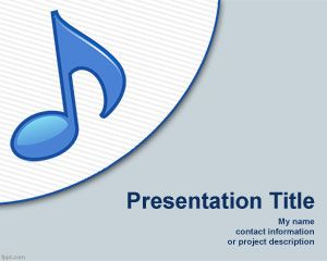 free music powerpoint template musician powerpoint template