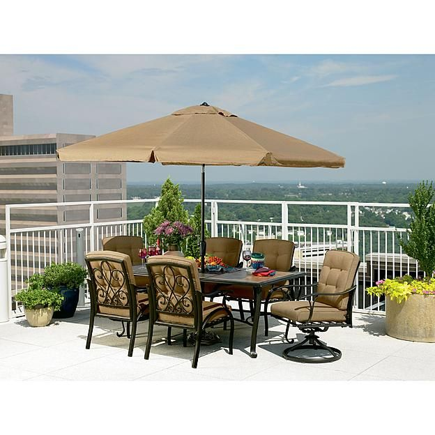 la z boy caitlyn 7 pc dining set home decor pinterest dining rh pinterest com Patio Furniture by Lazy Boy Recliner Chairs Lazy Boy Outdoor Furniture Sets