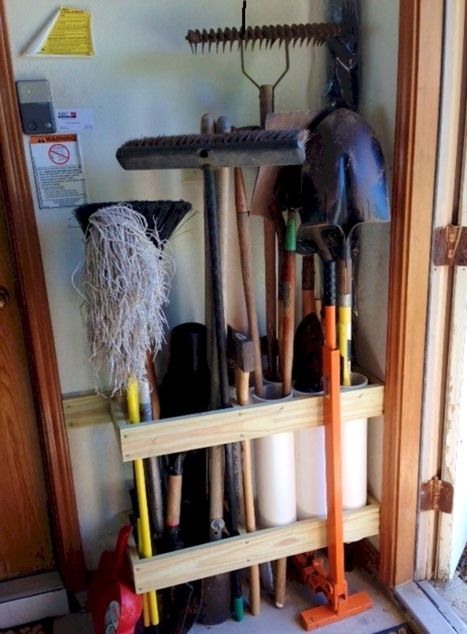 6 storage hacks that ll make you want to organize on cheap diy garage organization ideas to inspire you tips for clearing id=22090