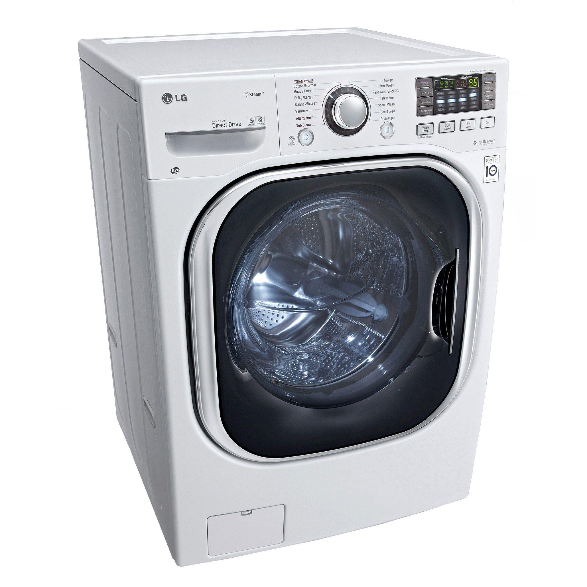 Lg Wm3488hw 24 Compact Ventless Washer Dryer Combo White Ventless Washer Dryer Washer Dryer Combo Ventless Dryer