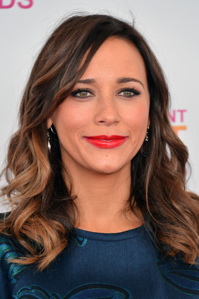 Rashida Jones Ombre Hair Medium Hairstyles Pinterest Hair