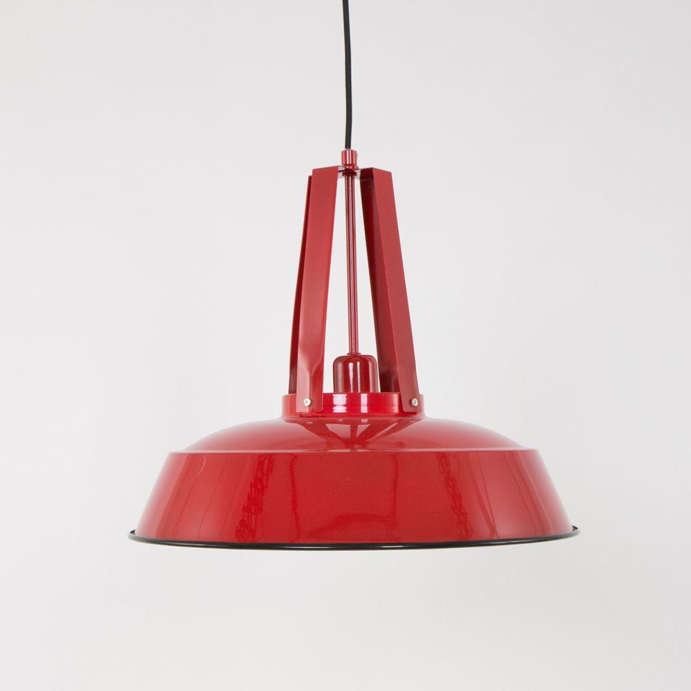 Bezaubernd Lampe Industriedesign Galerie Von Jet Red Pendelleuchte Im