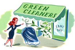 Finding An Eco Friendly Dry Cleaner Dry Cleaners Green Cleaner Dry Cleaning Business