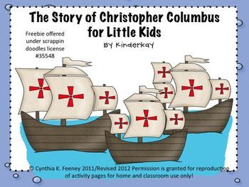 003 The Story of Christopher Columbus for Little Kids