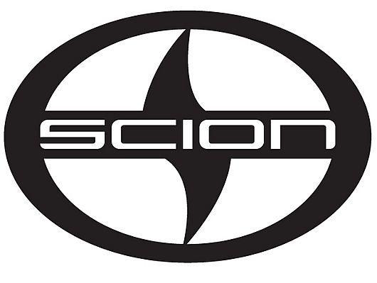 Car Badge 5D emblem light Scion car badge, logo sticker 5D - BLUE ...