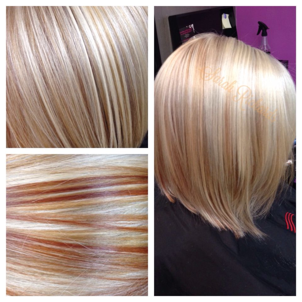 Red Ginger Platinum Blonde Bob Fall Blonde Blonde Hair With