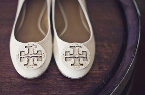 Southern Weddings Tory Burch Wedding Flats My Shoes