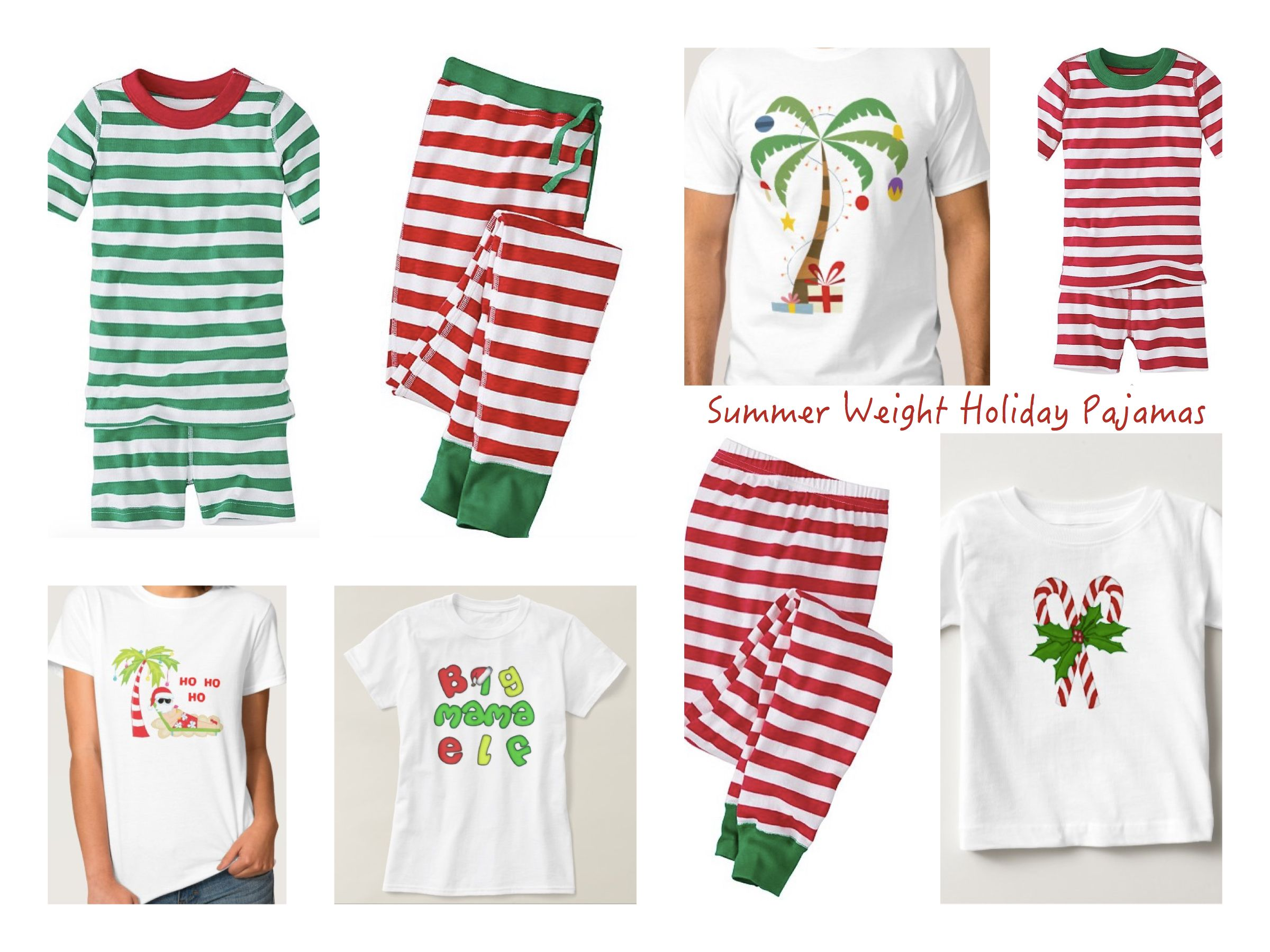 3db6c5c7fb Summer Christmas Matching Family Pajamas