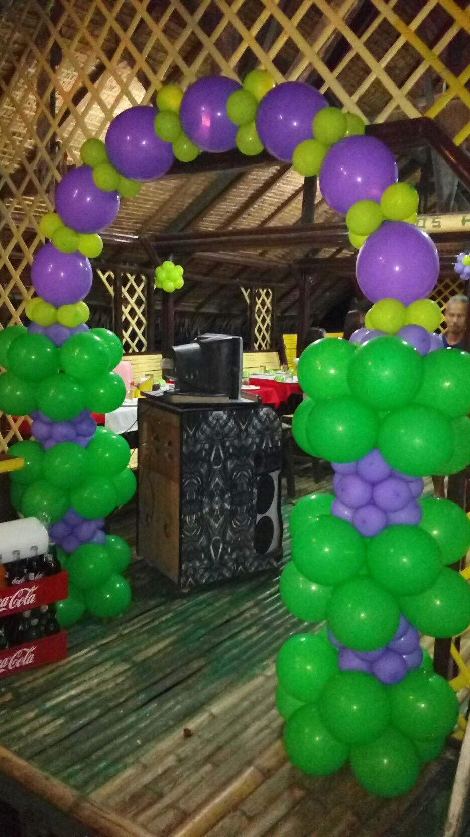 Wedding balloon bouquet Wedding balloon decorations