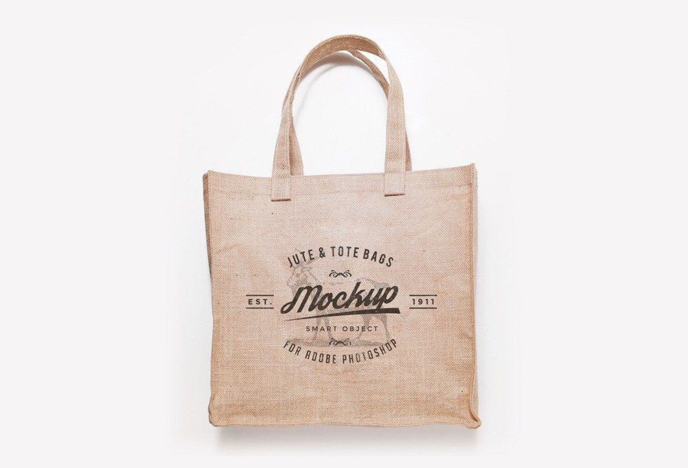 Download Free Jute And Tote Bag Mockups Graphicsfuel Jute Tote Bags Best Tote Bags Tote Bag