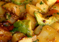 curry patate avocat
